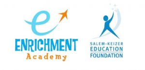 SKEF Logo and Enrichment Acadamy logo