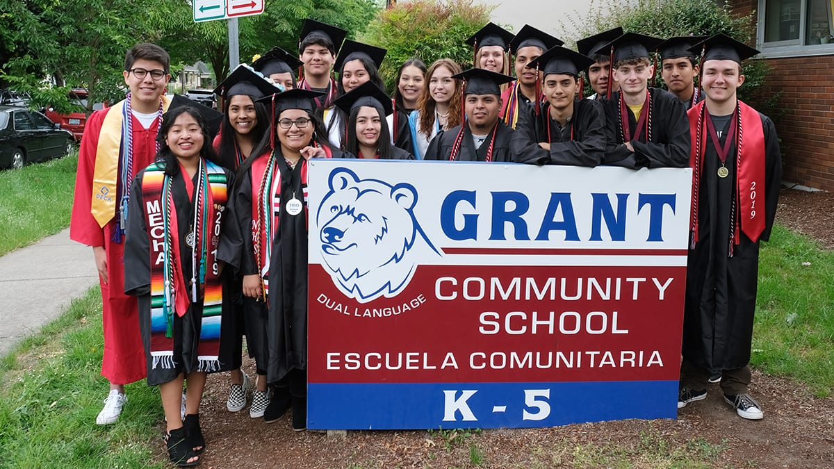 Parade of Honor: North Salem and South Salem Seniors at Grant Community School 2019