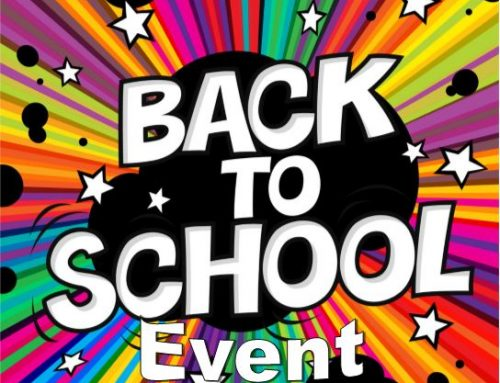 Back to School Event * Evento de regreso a clases